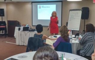 Training at EFT Gathering Canada