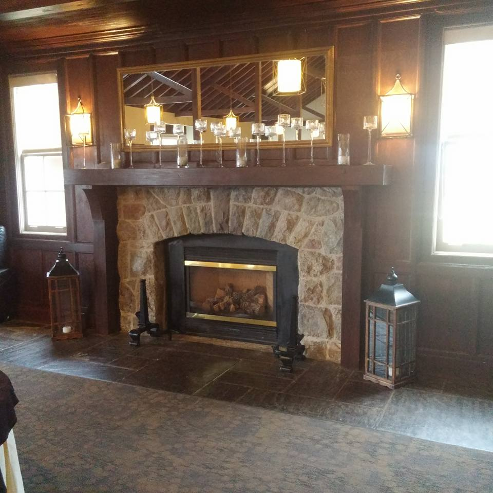 View of Fireplace at Cutten Fields Guelph Ontario