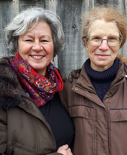 Margaret Godson & Susan Bushell Speakers at EFT Gathering